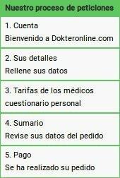 Pasos para comprar en el sitio web oficial de farmacia de Dokteronline.com