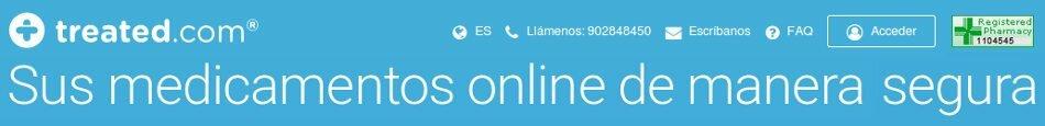 Treated.com España: farmacia en línea confiable y seria